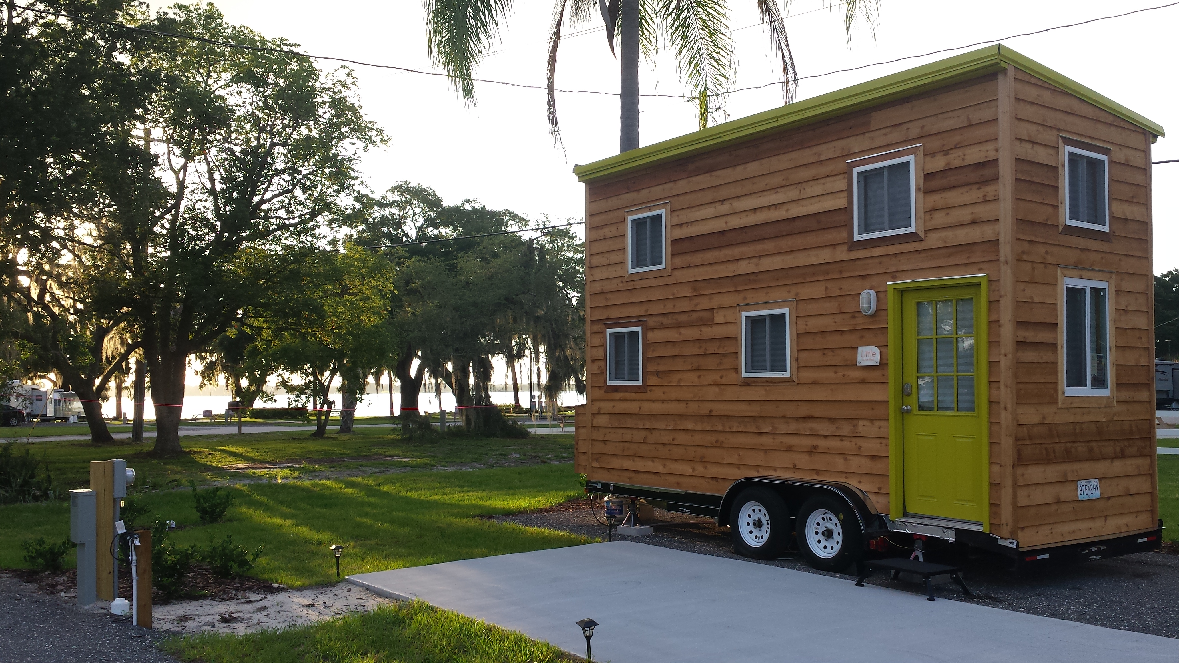The Preserve Is A New 10 Space Tiny House Community In Central Florida Part Of Outpost RV Resort Development On Beautiful 500 Acre Lake Mariana